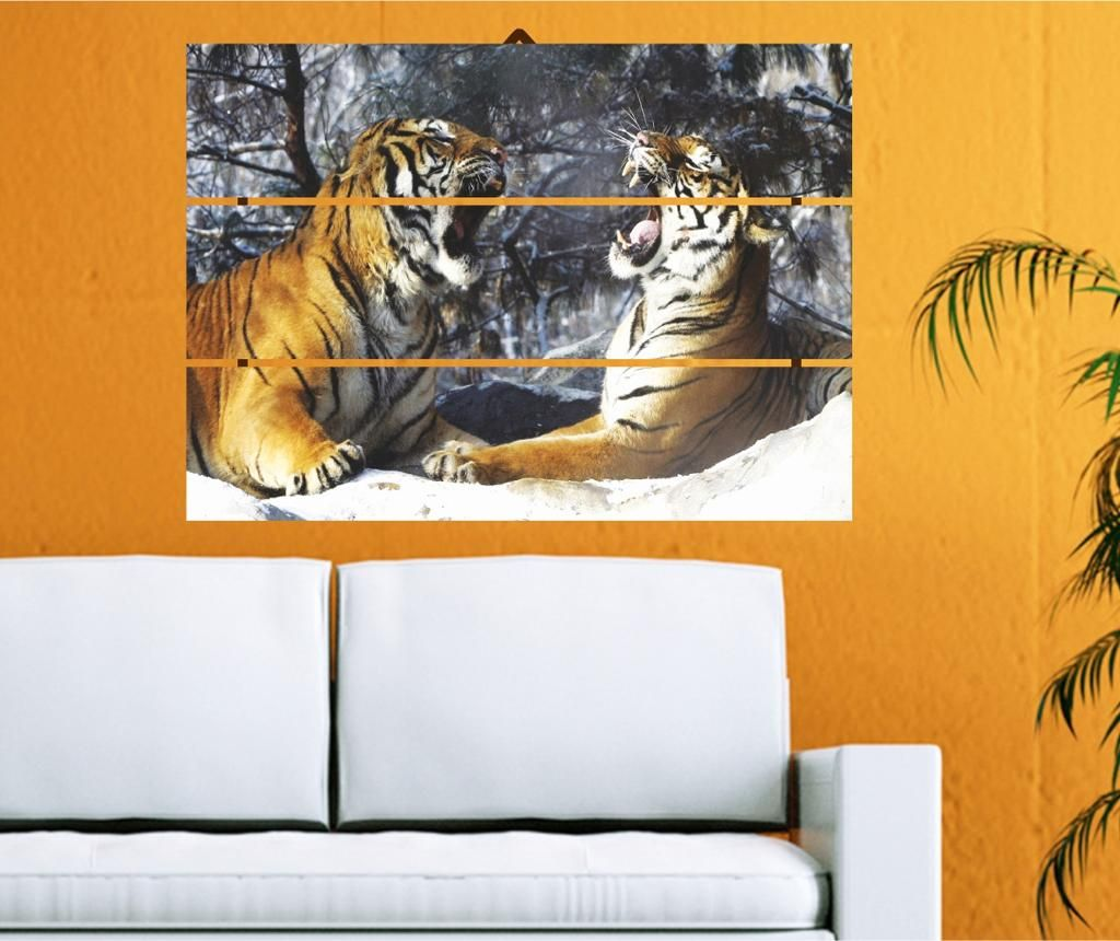 Tablou Tigers