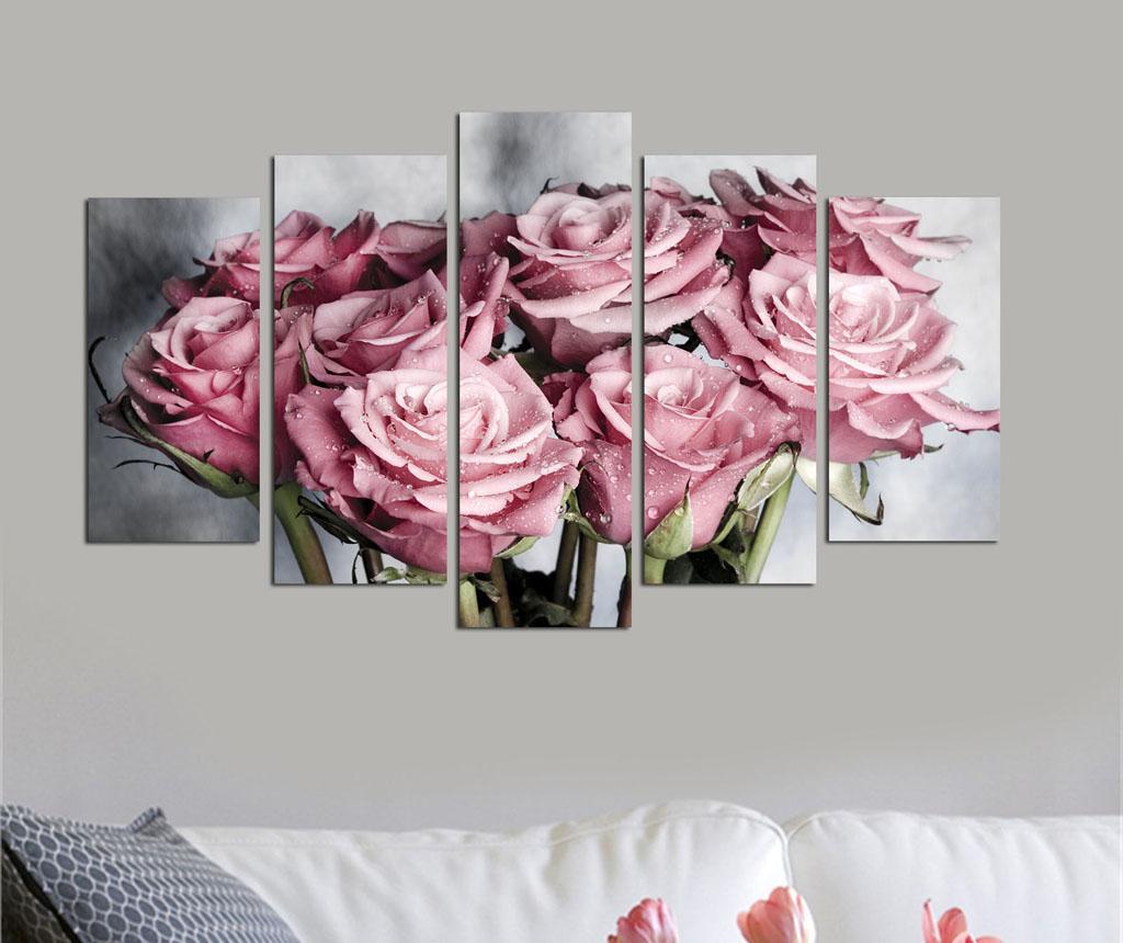 Set 5 slika Roses