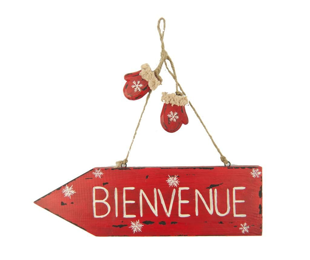 Decoratiune de perete Bienvenue
