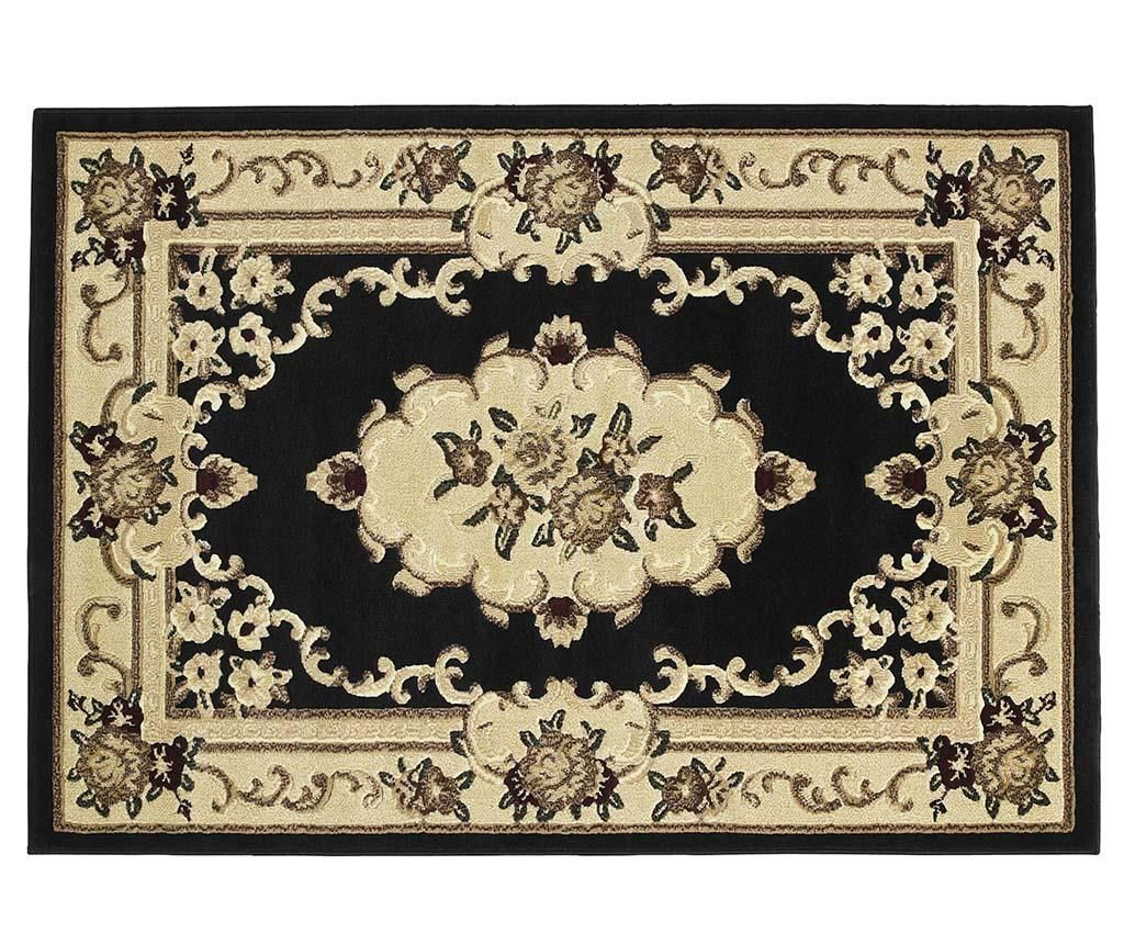 Covor Marrakesh Black 60x105 cm