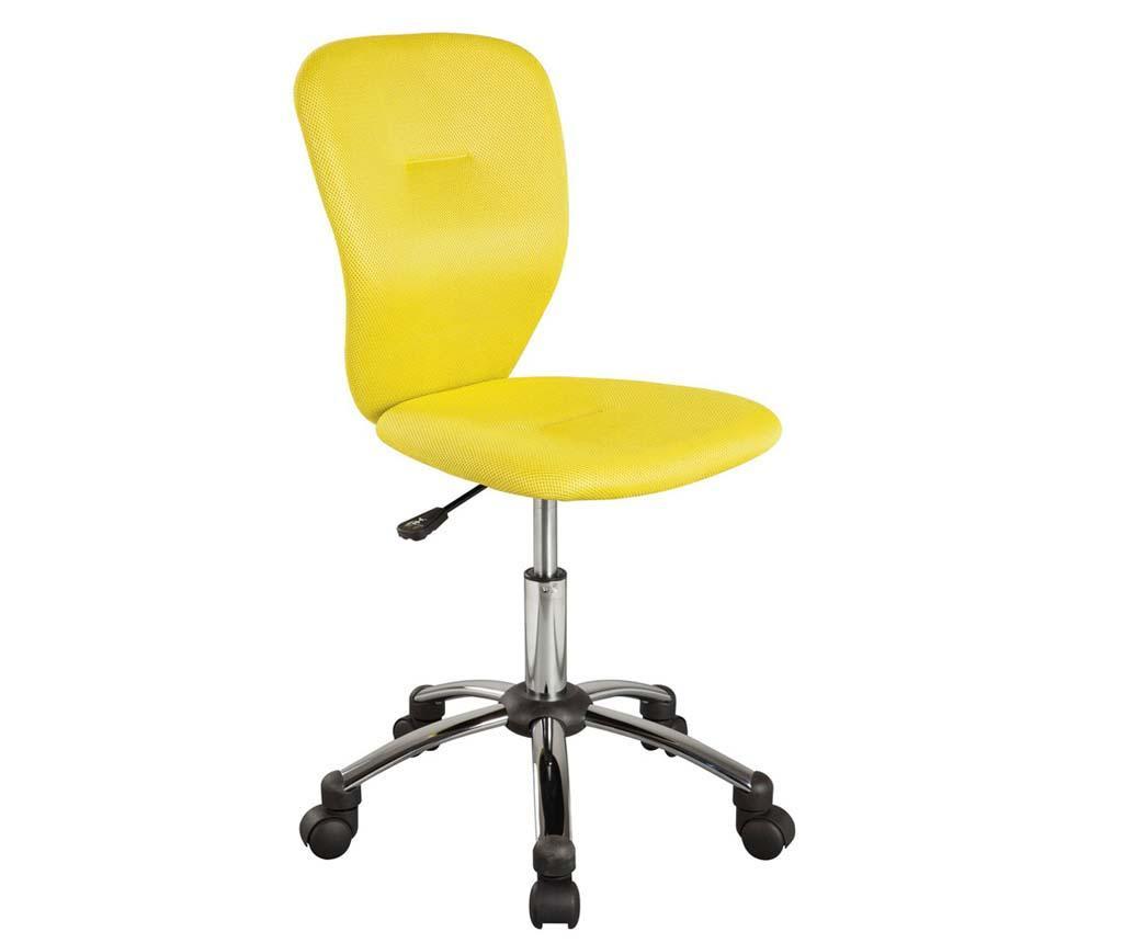 Scaun de birou pentru copii Smooth Yellow
