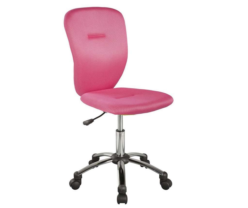 Scaun de birou pentru copii Smooth Pink