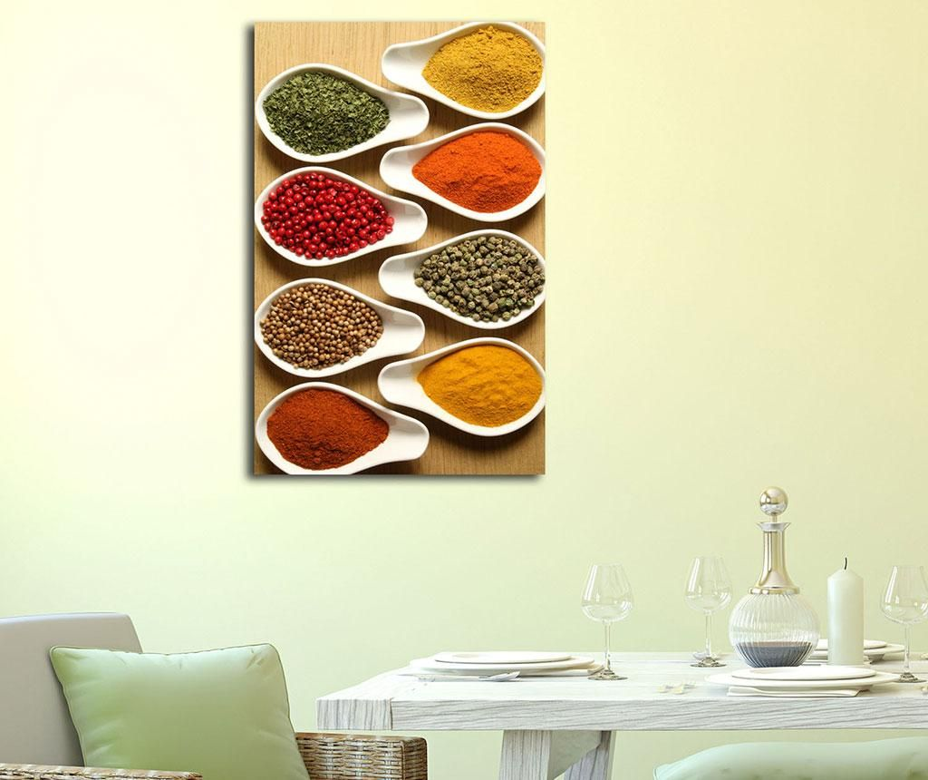 Tablou Serving Spices 45x70 cm