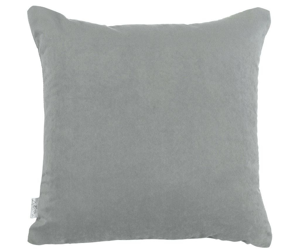 Fata de perna Plain Light Grey 43x43 cm