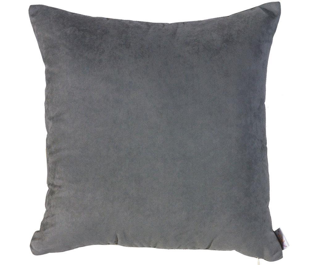 Fata de perna Plain Dark Grey 43x43 cm