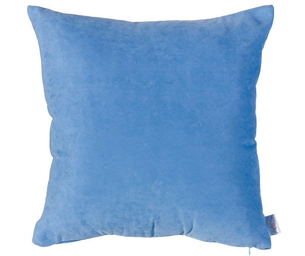 Fata de perna Plain Light Blue 43x43 cm