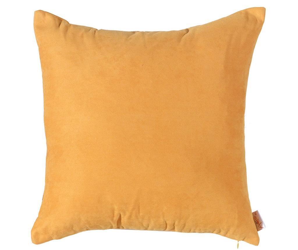 Fata de perna Plain Mustard 43x43 cm