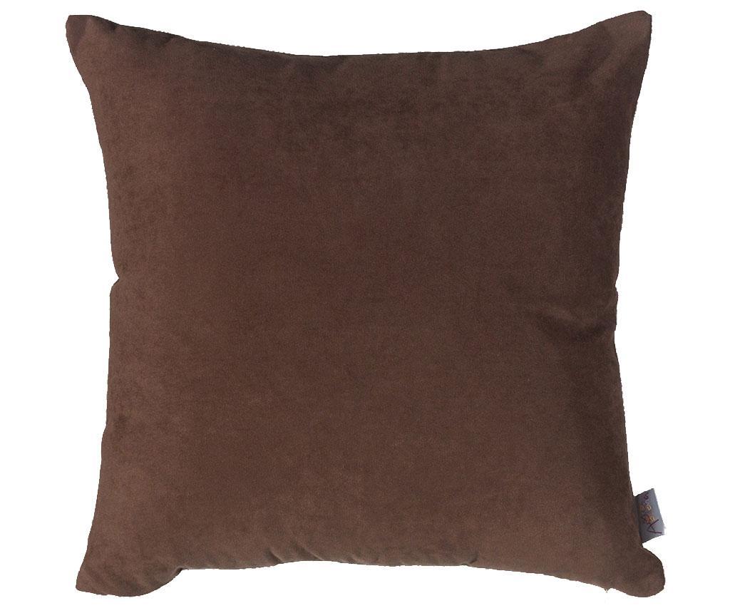 Fata de perna Plain Dark Brown 43x43 cm