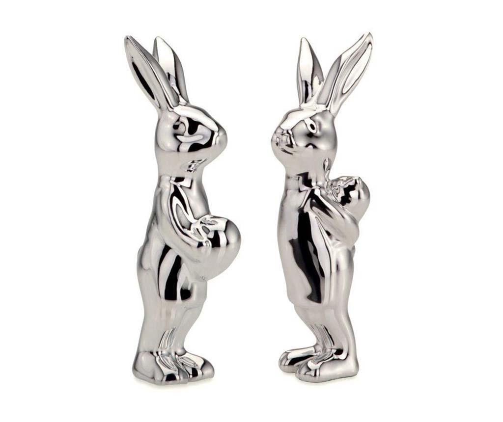 Set 2 decoratiuni Mister Rabbit