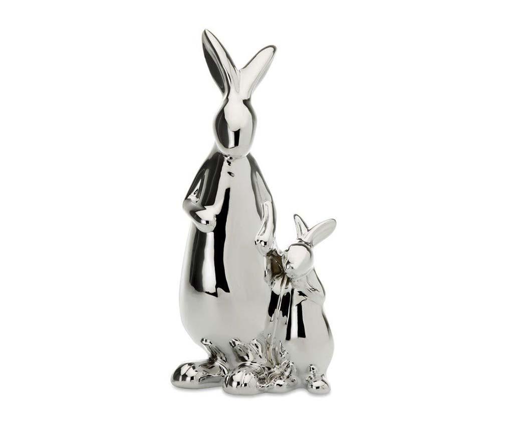 Decoratiune Rabbit Mama with Children