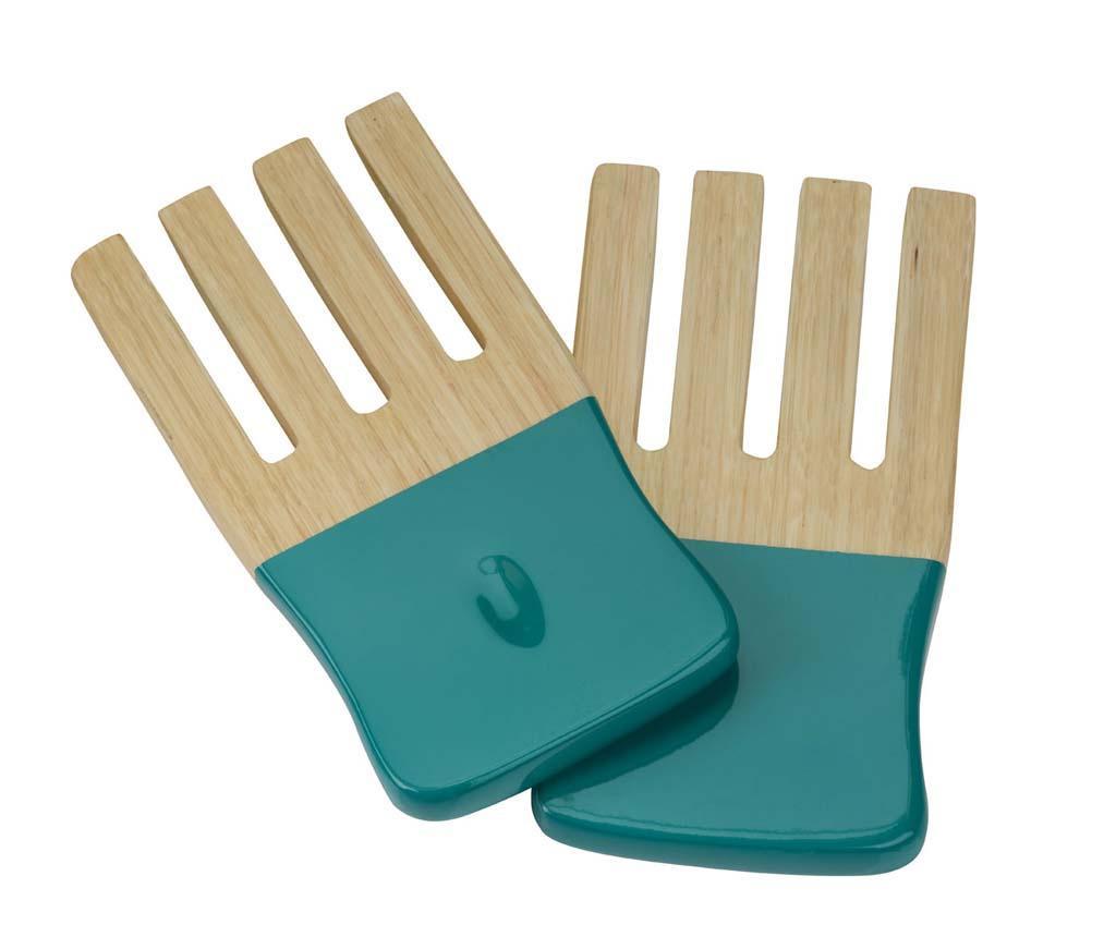 Set 2 pripomočkov za solato KyotoTurquoise