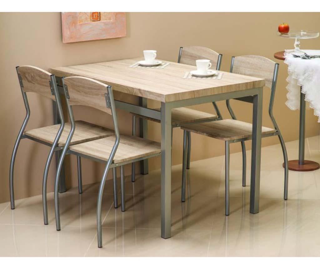 Set stol i 4 stolice Giselda