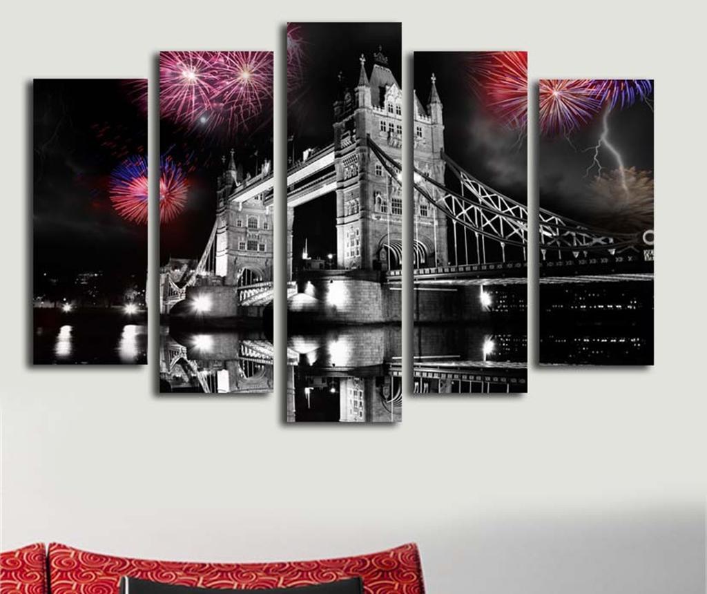 Set 5 slika London Night