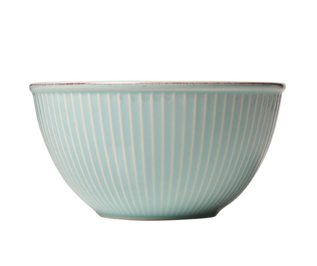 Skleda za solato Little Stripes Blue 750 ml