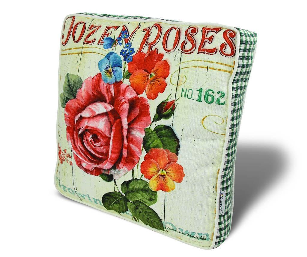 Jastuk za stolicu Beautiful Rose Garden 42x42 cm