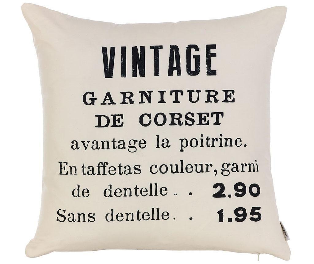 Jastučnica Vintage 43x43 cm