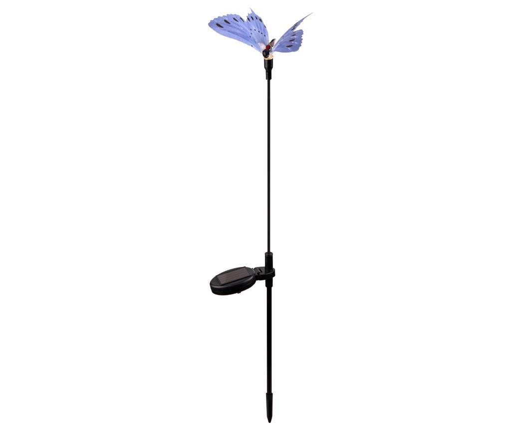 Light Blue Butterfly Napelemes lámpa