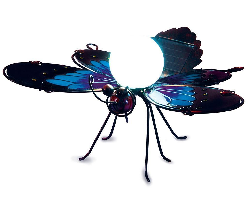 Blue Butterfly Borders Napelemes lámpa