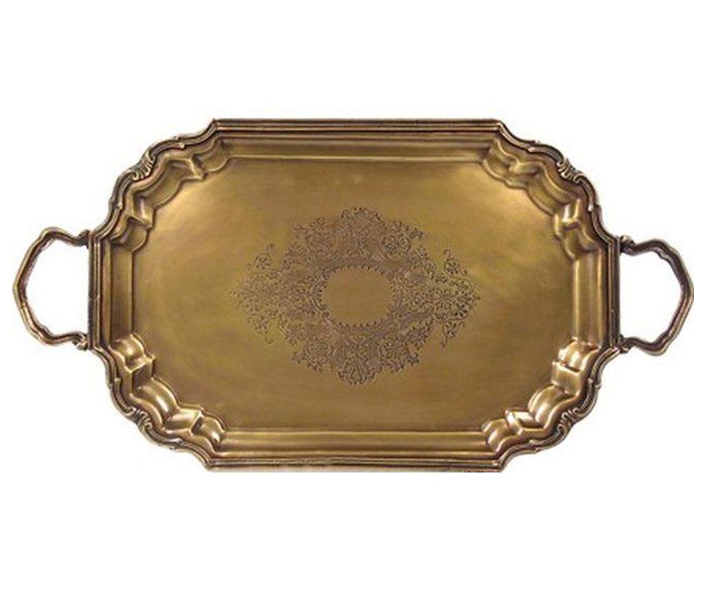 Tava pentru servire Antique Brass