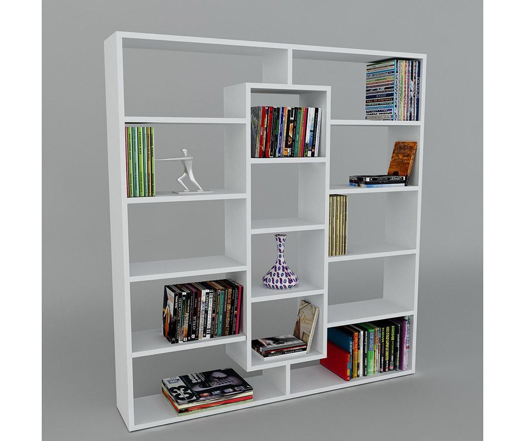 Knjižni regal Layers White