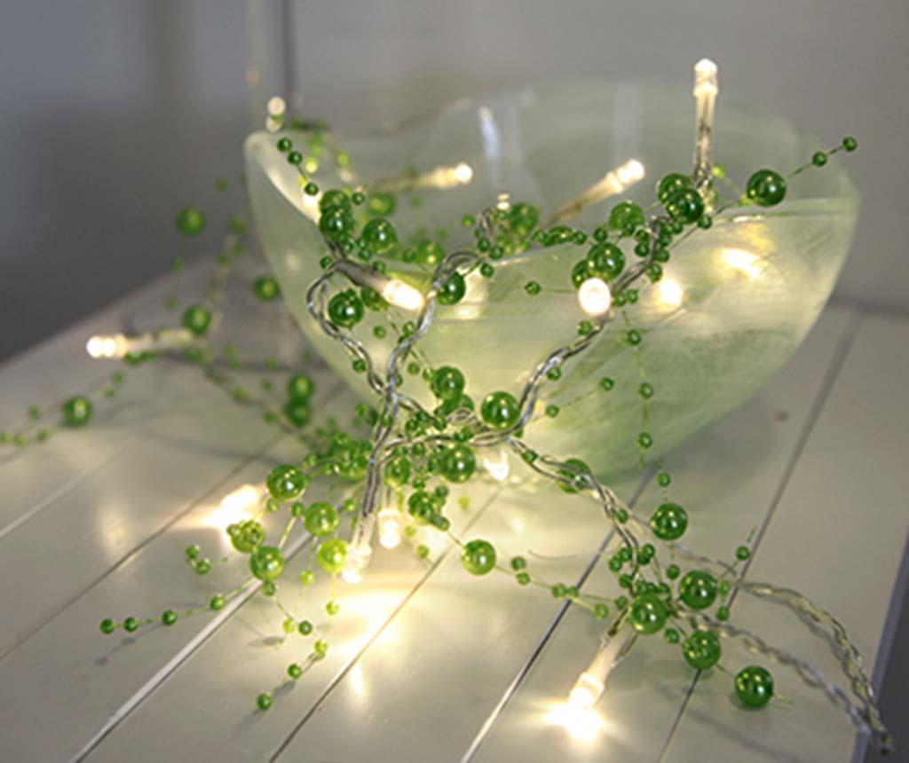 Svjetleća girlanda Pearl Green 115 cm