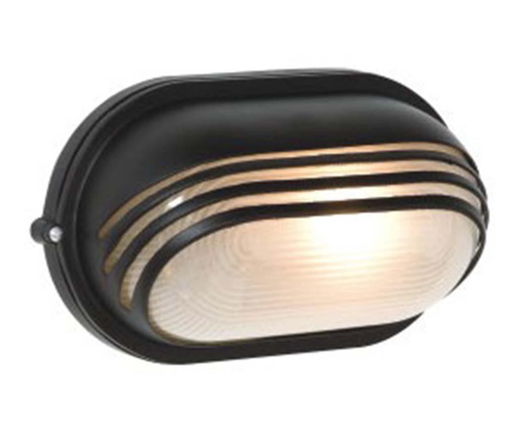 Vanjska zidna svjetiljka Dragon Scales Wide Black S