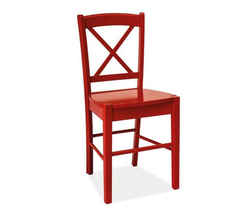 Стол Crossed Red