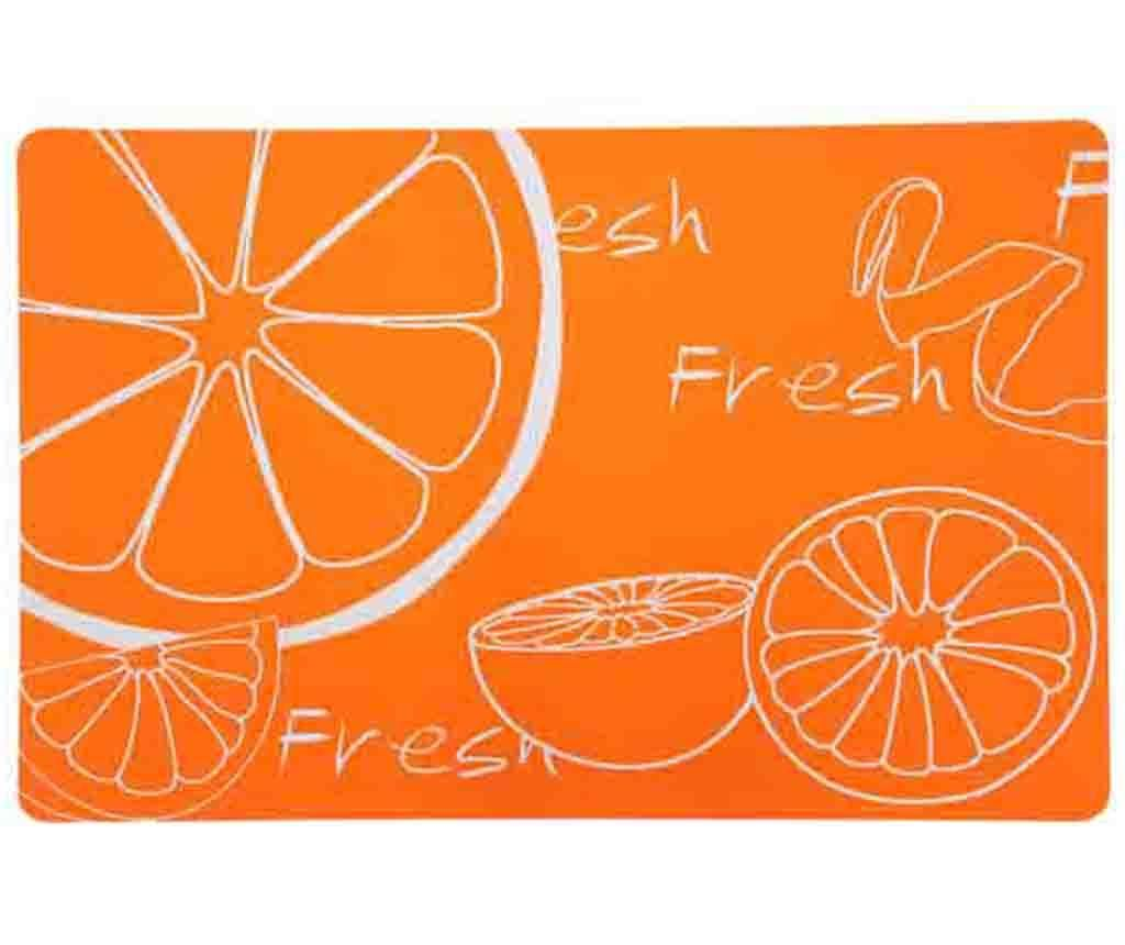 Suport farfurie Citrus Orange 28.5x43.5 cm