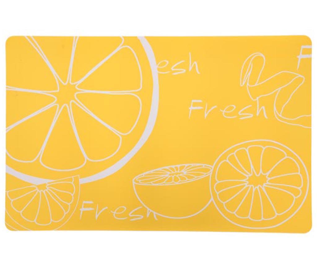 Pogrinjek Citrus Yellow 28.5x43.5 cm