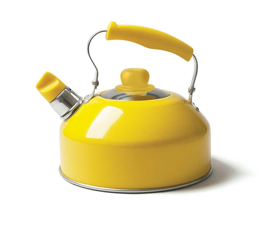 Čajnik sa zviždaljkom Pop Yellow 2 L