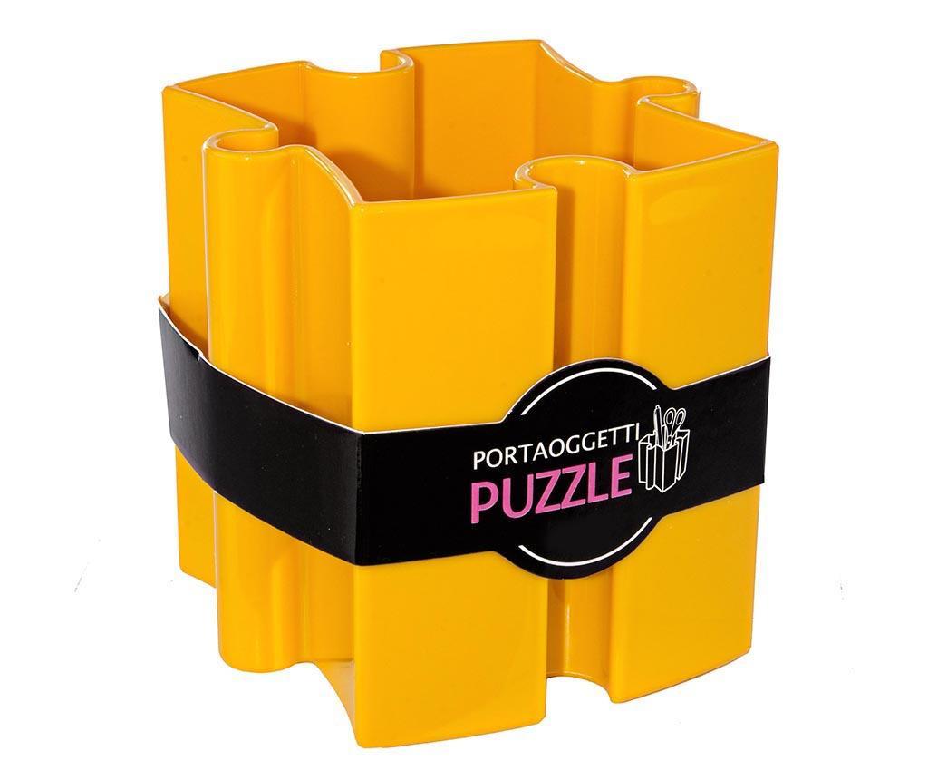 Puzzle Yellow Írószertartó