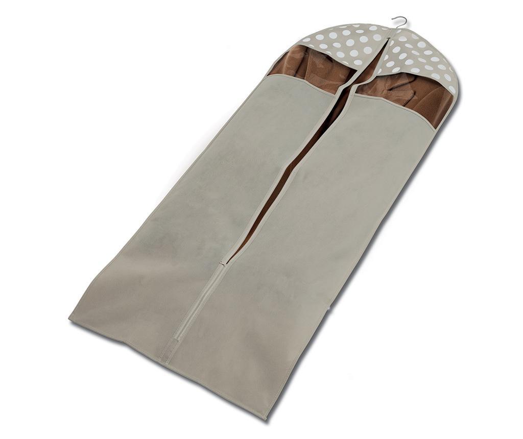 Husa pentru haine Classy Cream 60x137 cm