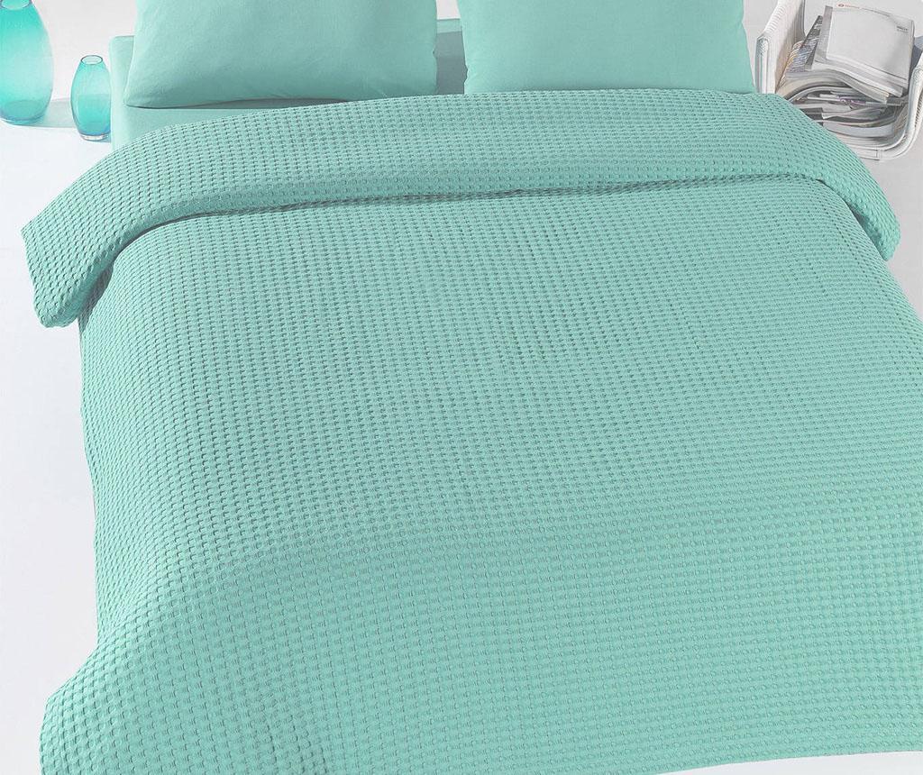 Prikrývka Pique Burum Mint 200x235 cm