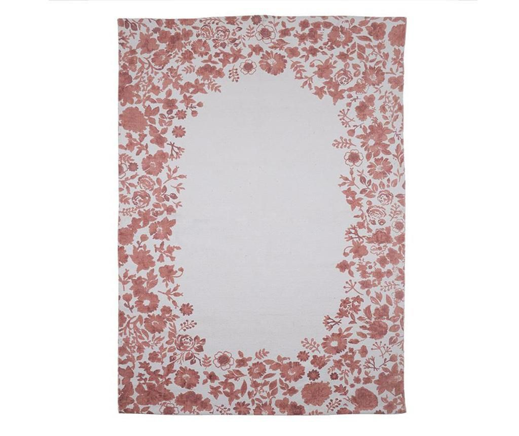 Preproga Flowers Red 120x180 cm