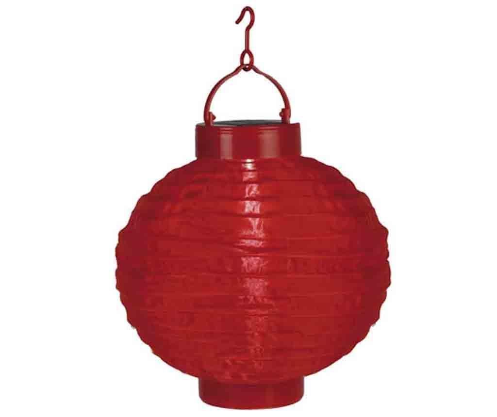 Solární lucerna Pan Red