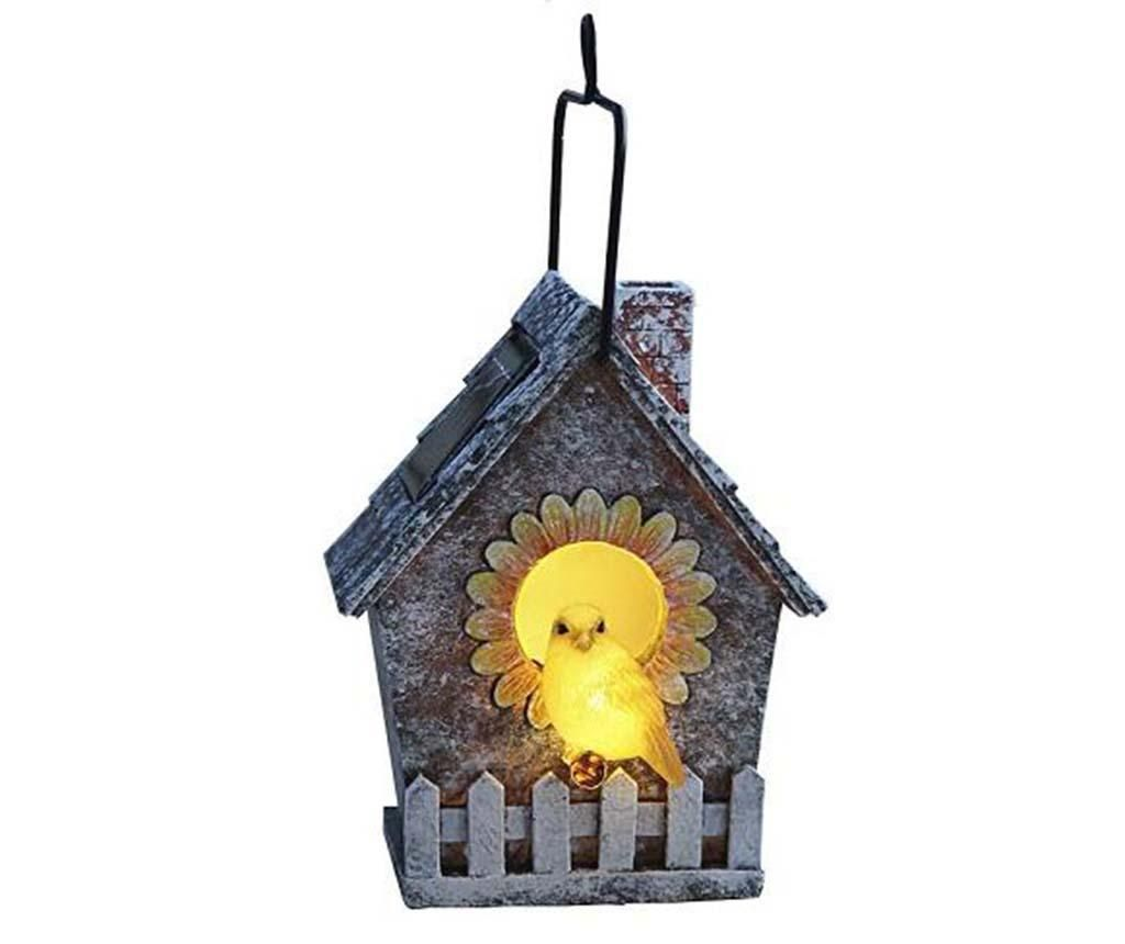 Lampa solara Bird House