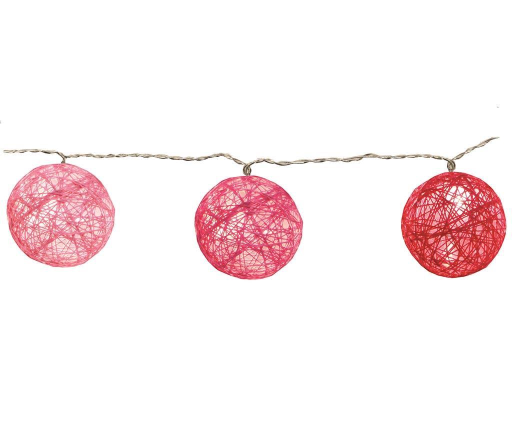 Ghirlanda luminoasa Jolly Pink 135 cm