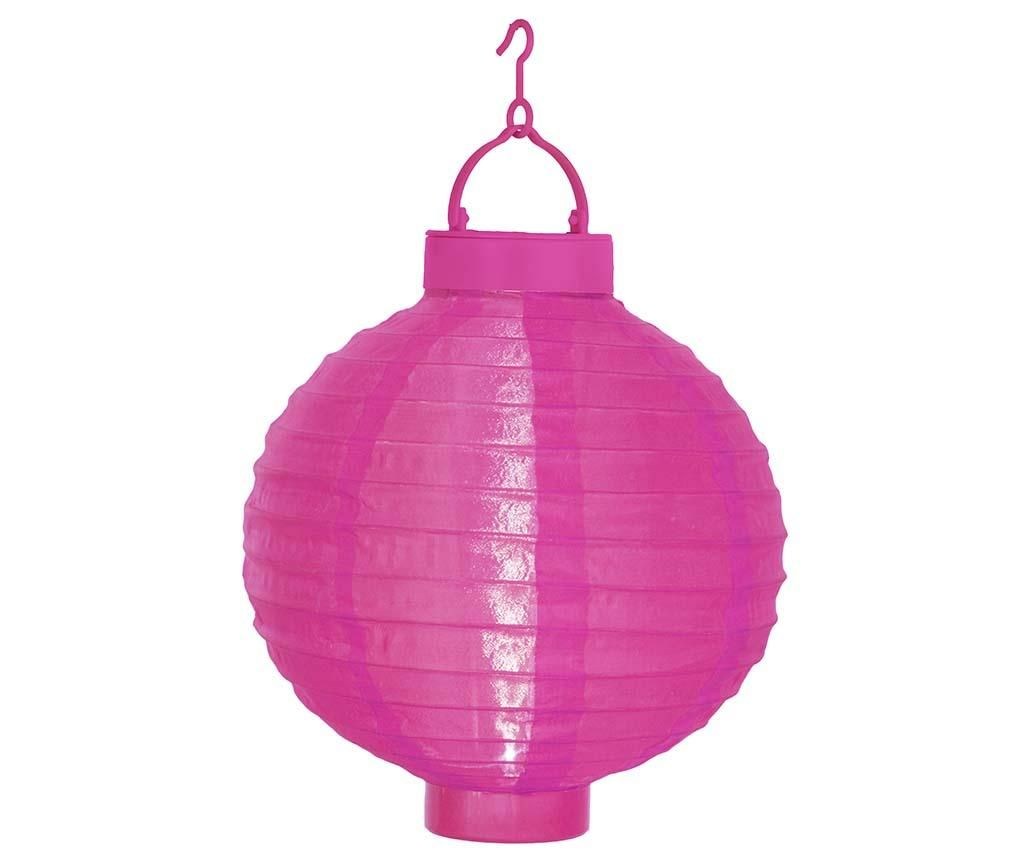 Solární lucerna Pan Pink