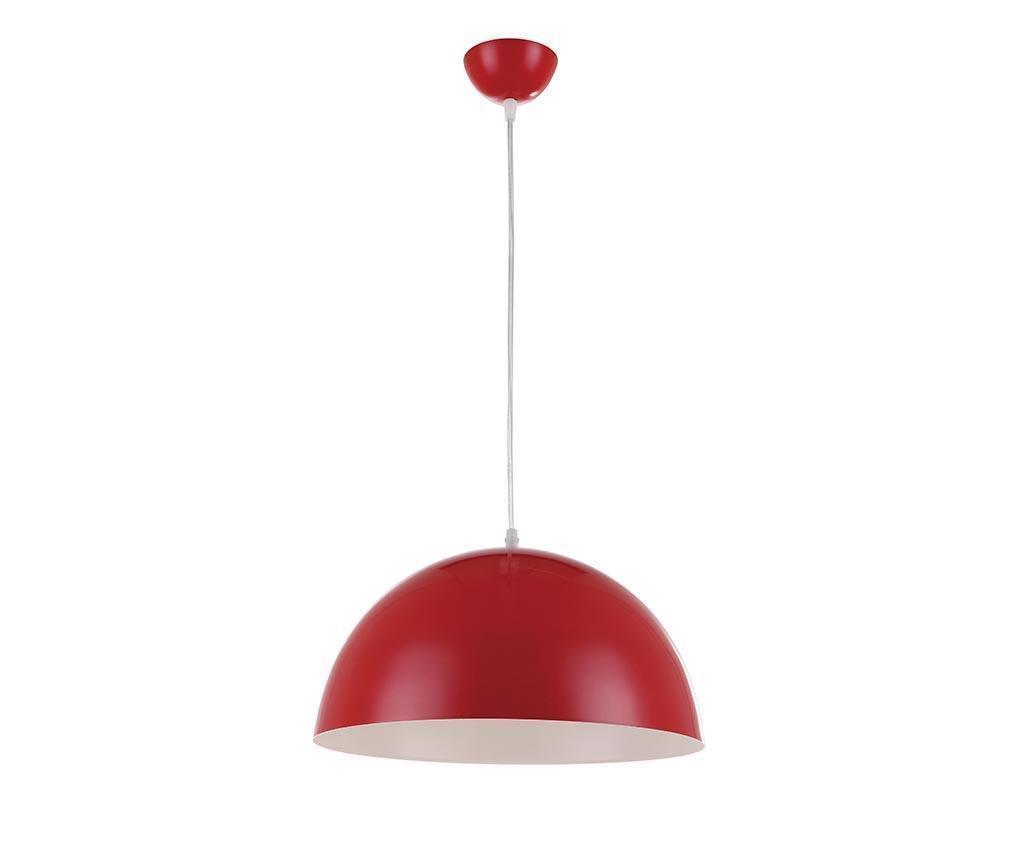 Lustra Half Ball Red