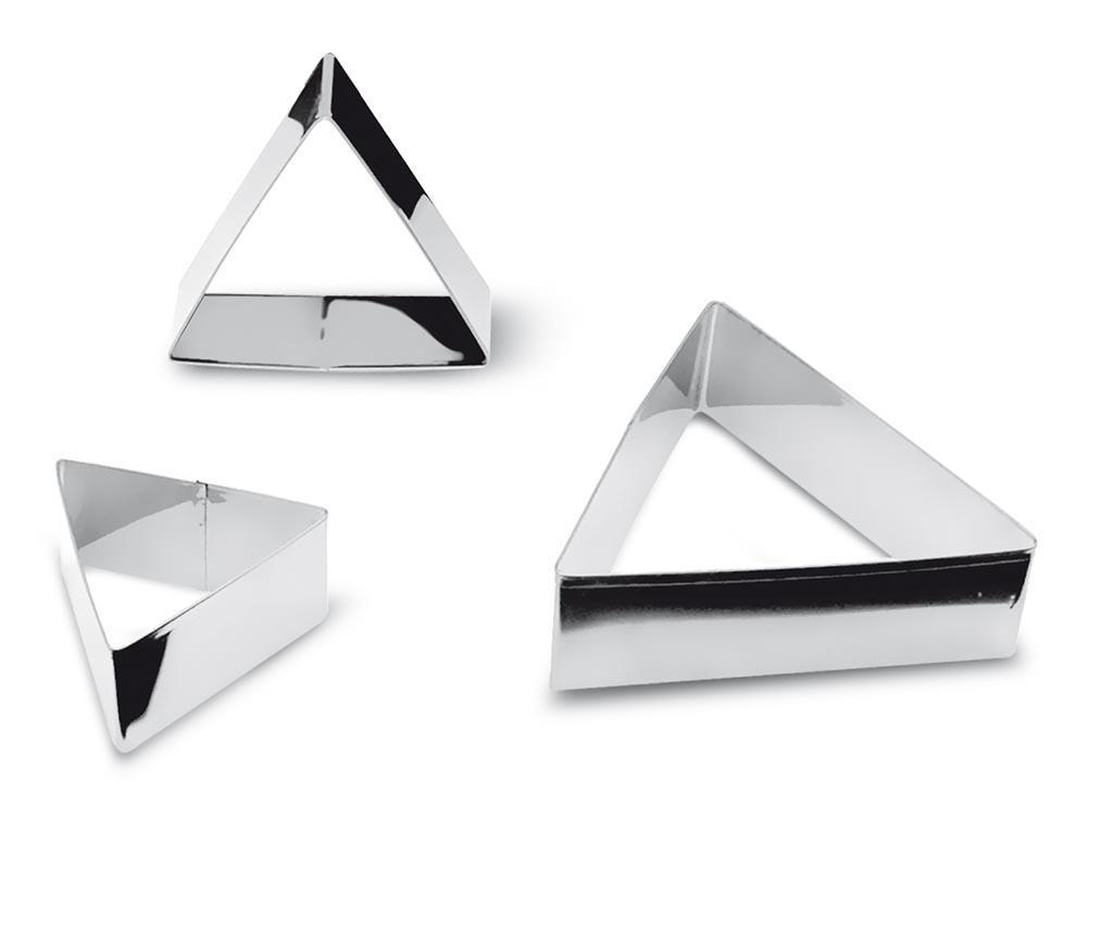 Set 3 forme de prezentare Triangular