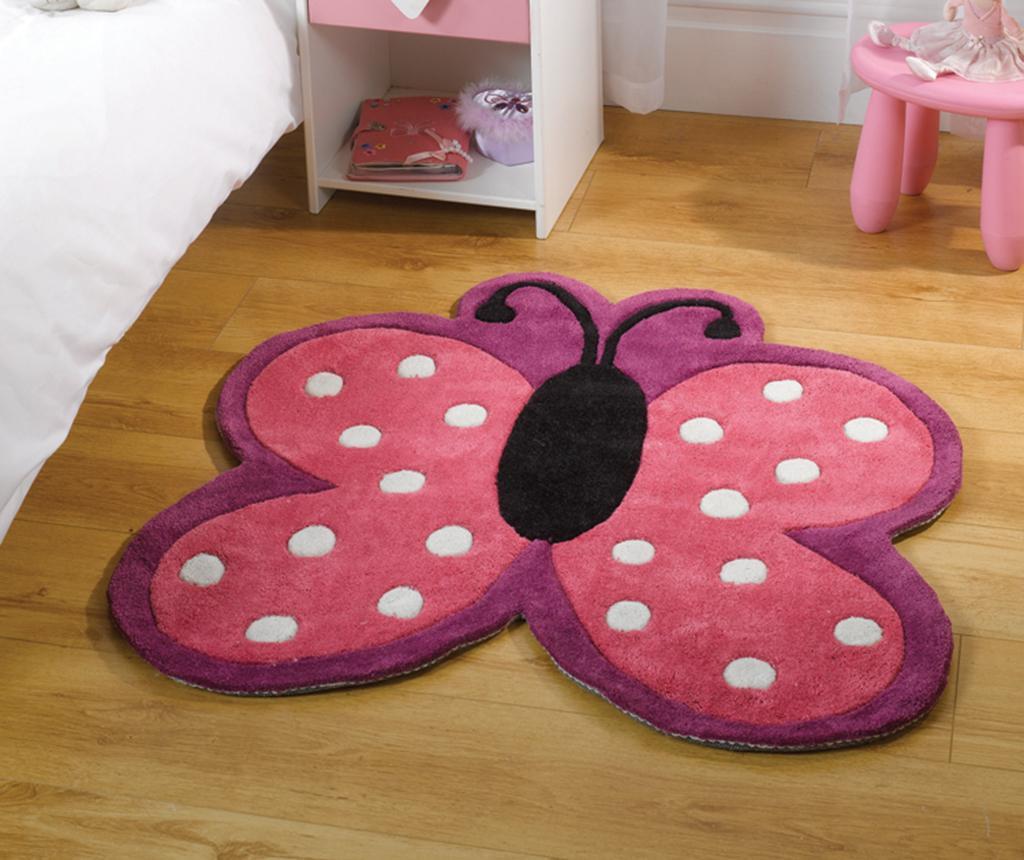 Polka Butterfly Szőnyeg 90x90 cm