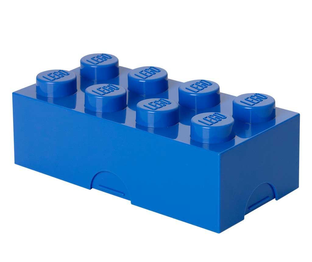 Lego Blue Uzsonnás doboz