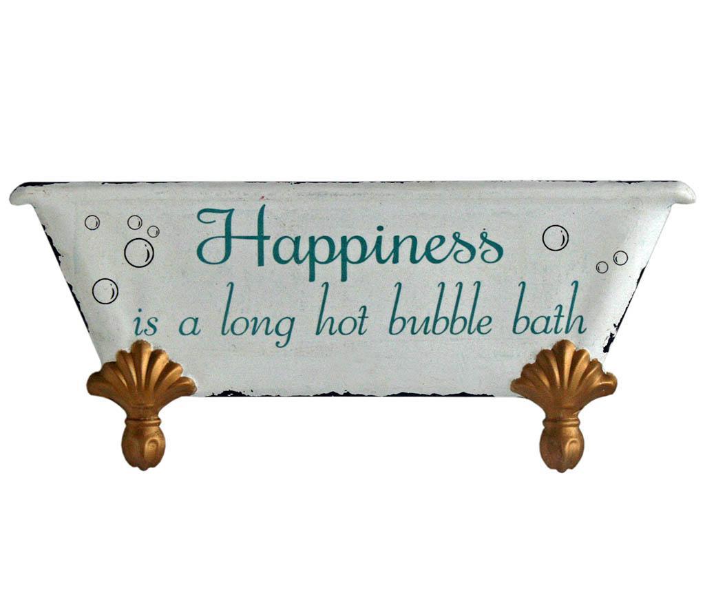 Happiness is a Bath Fali dekoráció