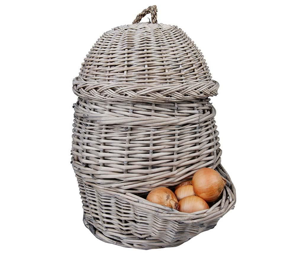 Košara s poklopcem Onion