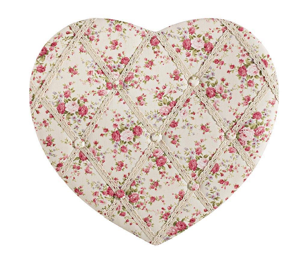 Rose Heart Emlékeztető tábla
