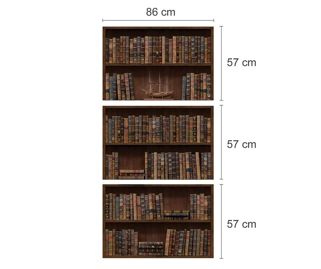 Butterfly and Bookshelf Matrica