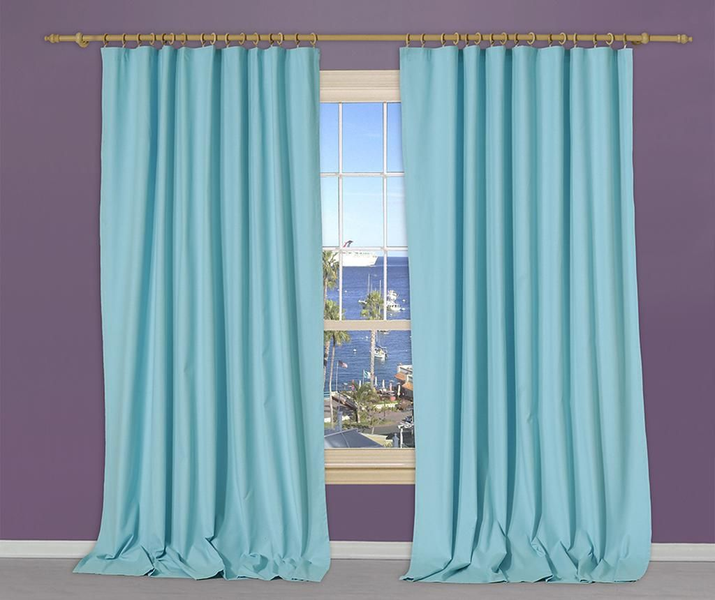 Draperie Simple Turquoise 170x270 cm