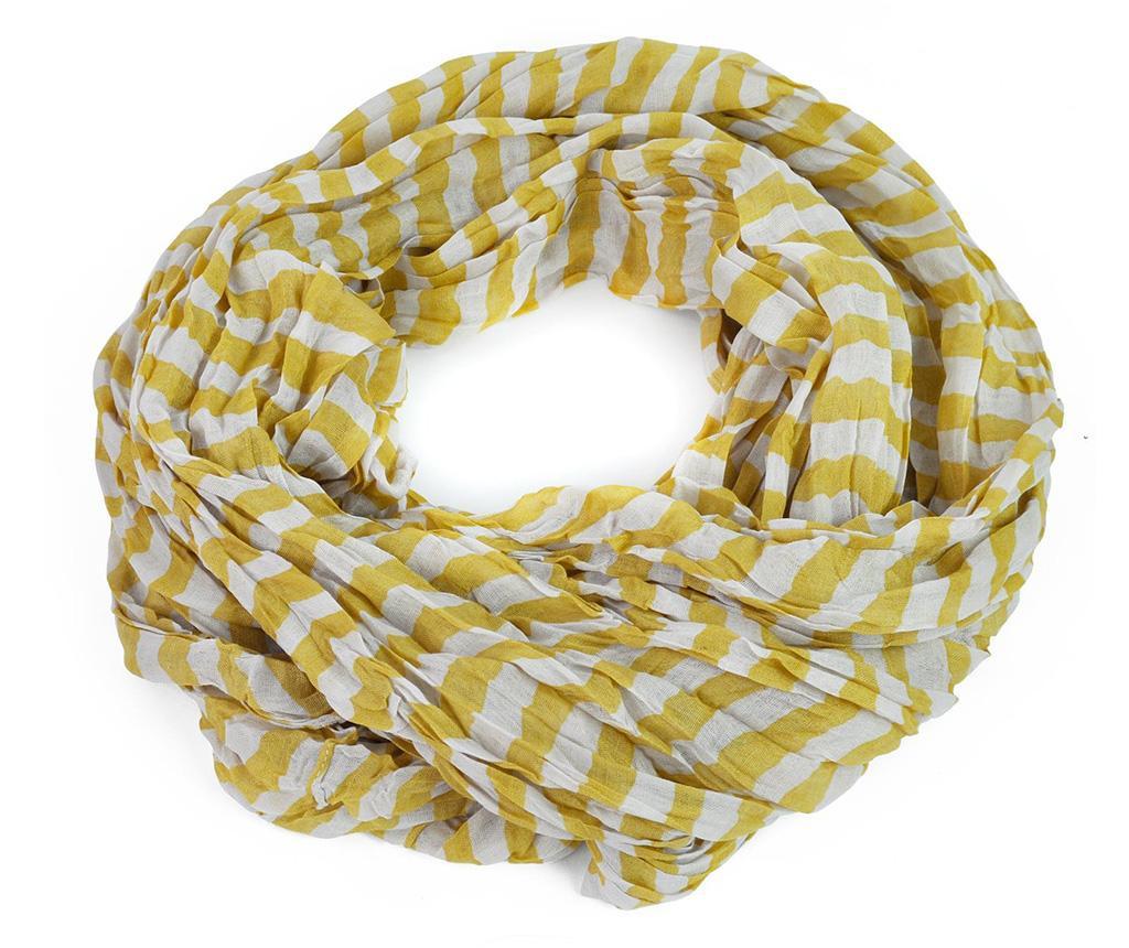 Esarfa Misty Yellow 100x170 cm