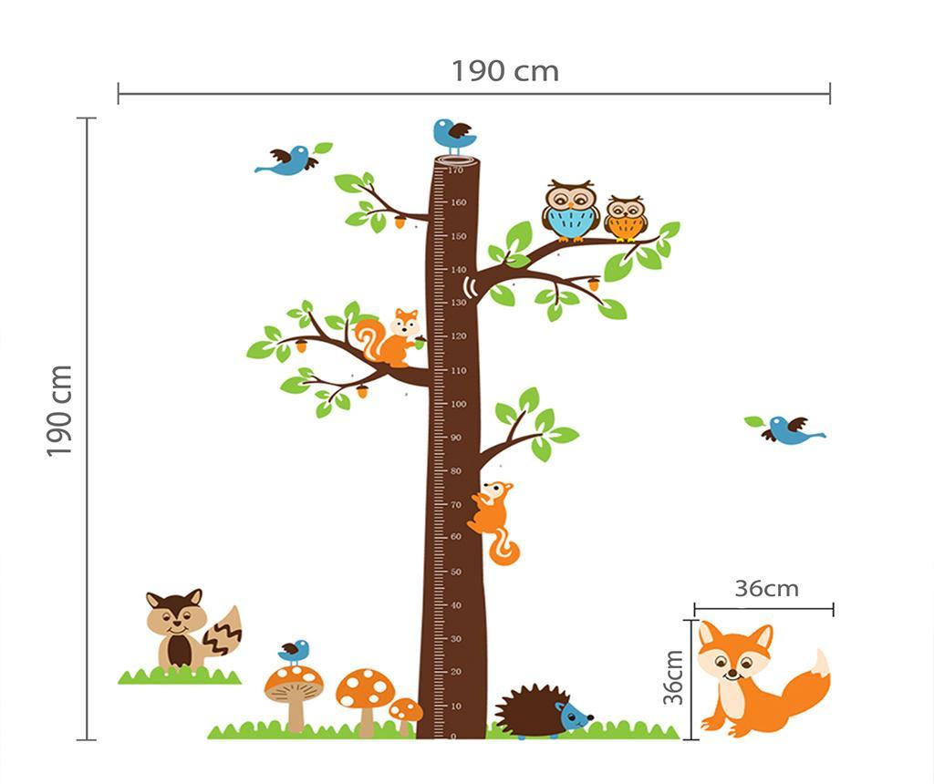 Fox Tree Height Measure Matrica