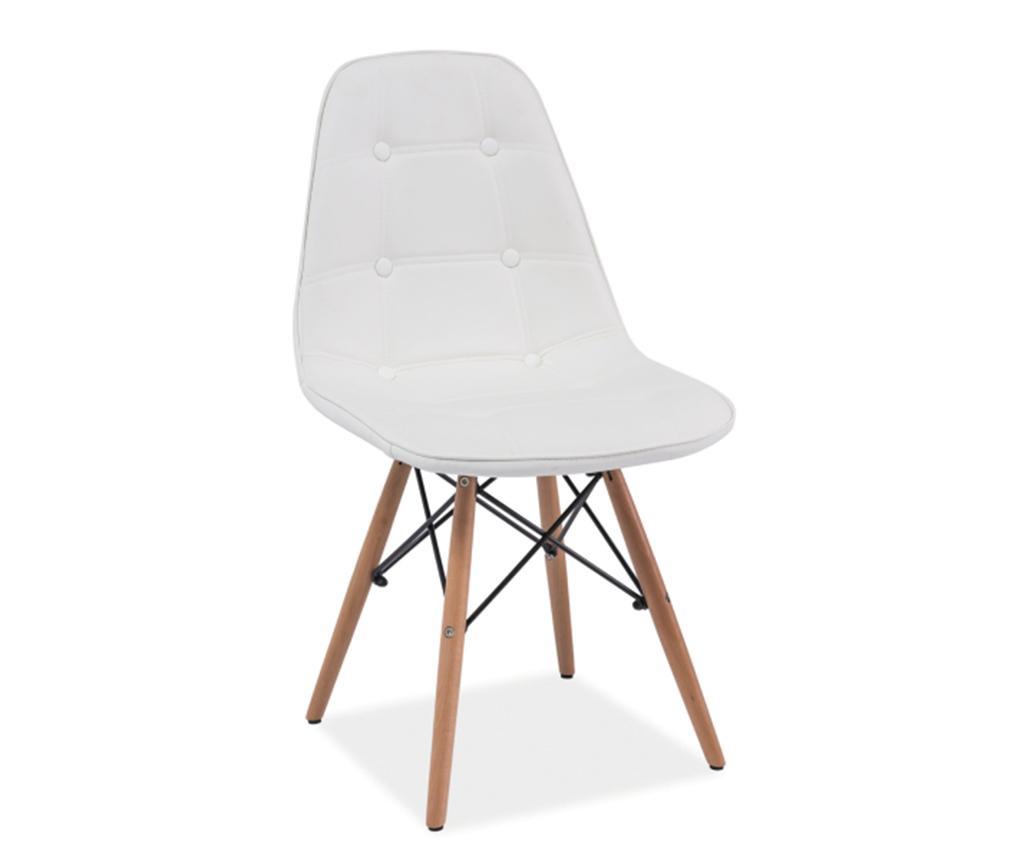 Καρέκλα Button Charles White